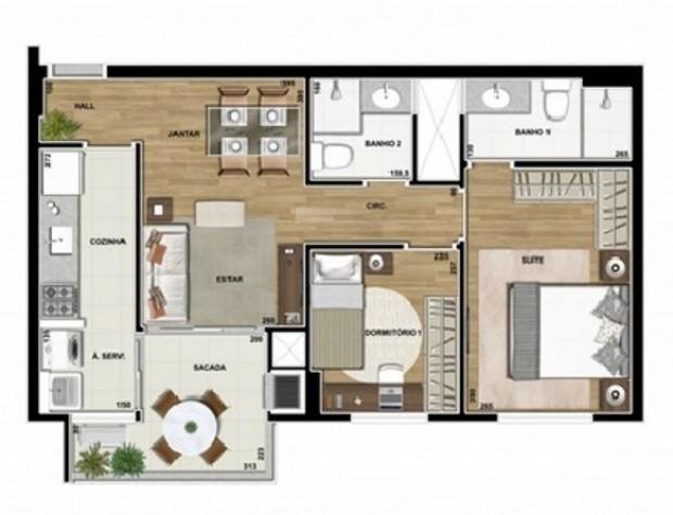 Spot Centro Residence Edifício